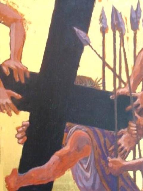 """Cross Laid on Him"", James Middleton"