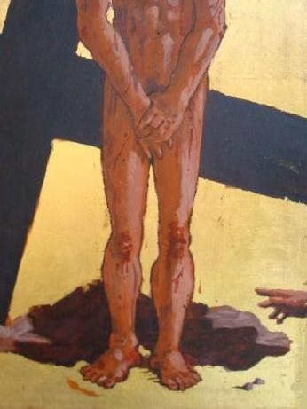 Fifth Station: Jesus is Stripped of His Clothes