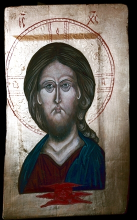 Fr. John Walsted Icon -- Face of Christ