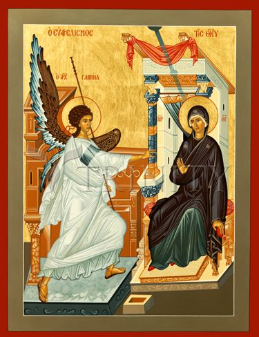 The Annunciation by Br. Lentz