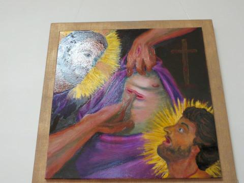 The Incredulity of St. Thomas by Cynthia Brome