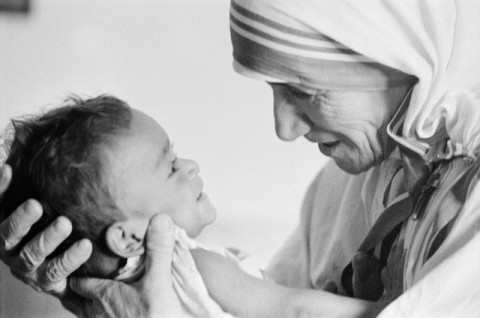 Mother Teresa in Calcutta