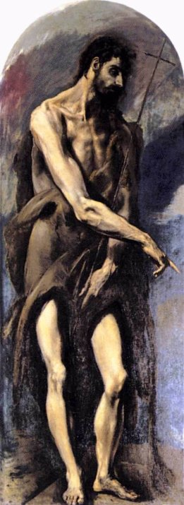 St. John the Baptist by El Greco, 1579