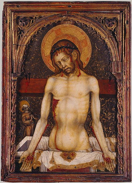 The Man of Sorrows, ca. 1420–30 Michele Giambono (Michele Giovanni Bono) (Italian, Venetian, active 1420–62)