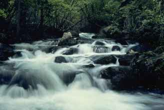 fast-mountain-river-makes-a-hazy-waterfall