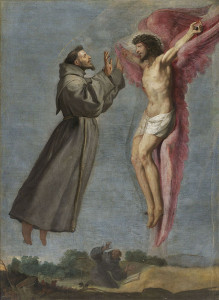 Stigmatization of St. Francis by Carducho