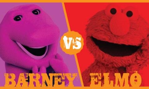 BarneyVElmo